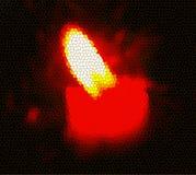 Illustratie van kaarslicht stock foto's