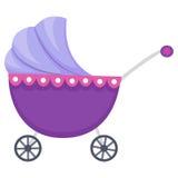 Illustratie van Kinderwagen Royalty-vrije Stock Afbeelding