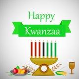 Illustratie van Kwanzaa-Achtergrond Royalty-vrije Stock Afbeelding
