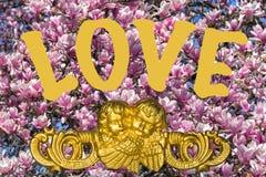Illustratie van liefde stock afbeelding