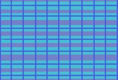 Illustratie van lijnen en cellen in blauwe tonen, achtergrond vector illustratie