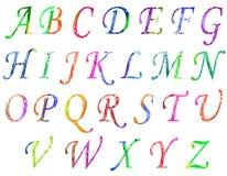 Illustratie van moderne mooie teksten voor banners en groet Stock Afbeeldingen