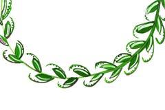 Illustratie van olijftak Royalty-vrije Stock Afbeelding