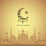 Illustratie van Ramadan Kareem Royalty-vrije Stock Foto's