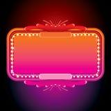 Illustratie van Roze Retro Markttent. Vectorbeeld stock illustratie