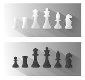 Illustratie van schaak Royalty-vrije Stock Foto's