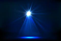 Het Licht van de vlek stock illustratie