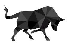 Illustratie van stier Stock Afbeelding