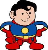 Illustratie van superhero Royalty-vrije Stock Afbeelding