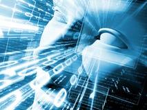 Illustratie van technologie Royalty-vrije Stock Fotografie