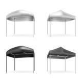 Illustratie van tenten Royalty-vrije Stock Foto