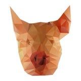 Illustratie van varkenshoofd Royalty-vrije Stock Foto's