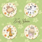 Illustratie van verschillende speelgoedpunten Royalty-vrije Stock Foto's