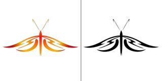 Illustratie van vlinder Royalty-vrije Stock Afbeelding