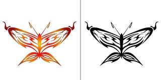 Illustratie van vlinder Royalty-vrije Stock Foto's