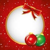 Illustratie Vector Grafische Kerstmis Stock Afbeeldingen