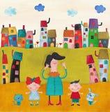 Illustratie voor kinderen Royalty-vrije Stock Fotografie