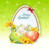 Illustratie voor Pasen-dag Stock Afbeeldingen