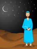 Illustratie voor ramadan kareem royalty-vrije illustratie