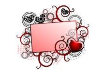 Illustratie voor valentijnskaartdag Royalty-vrije Stock Fotografie