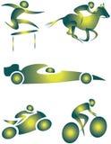 Illustratief pictogram Stock Foto