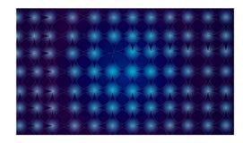 Illustratiekunst van abstracte moderne achtergrond Stock Afbeeldingen