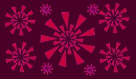 Illustratiekunst van abstracte moderne achtergrond Royalty-vrije Stock Afbeelding