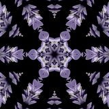 Illustraties psychedelische fractal futuristische geometrische kleurrijk vector illustratie