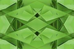 Illustraties van CGI, willekeurige geometrisch, achtergrond voor grafisch ontwerp of behang 3d geef terug stock illustratie