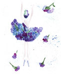 Illustratieschets van vrouwelijk silhouet in kleding Stock Fotografie
