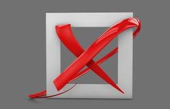 illustratio больших плоских кнопок: метка Красных Крестов квадрат, крепко и округленные углы Изолированный серый цвет иллюстрация штока
