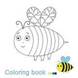 Illustratiol de vecteur de papillon drôle pour livre de coloriage illustration de vecteur