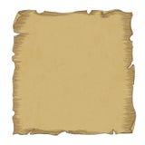 Illustration âgée de papier de rouleau, vecteur Photographie stock