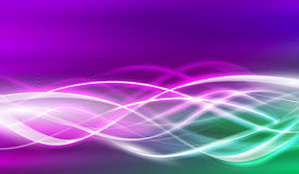 Illustration électrique de flux Images stock