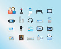 Illustration électronique Image stock
