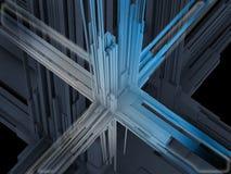 Illustration 3d abstraite Photos libres de droits