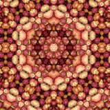 Illustration of abstract background from apples. Close-up vector illustration