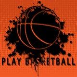Play basketball vector illustration