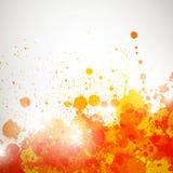 Colorful splashes Royalty Free Stock Photo