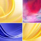 illustration of abstract background close up Royalty Free Stock Photos