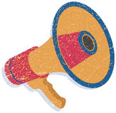 Abstract Megaphone Royalty Free Stock Photos