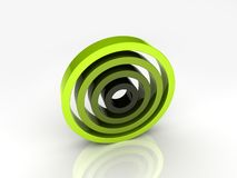 Illustration of abstract circles Royalty Free Stock Photo