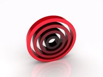 Illustration of abstract circles Stock Photos