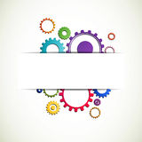 Cog wheels. Illustration of Abstract colorful Cog Wheels Stock Image