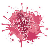 Illustration, abstract drawing - grapes Royalty Free Stock Photography