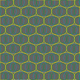 Illustration of abstract geometric seamless pattern. Endless texture can be used for wallpaper; pattern fills; web page background; surface textures Stock Image
