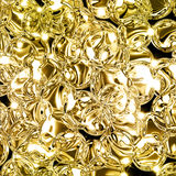 Illustration of abstract gold background with copy space Royalty Free Stock Images