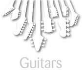 Abstract guitar background Stock Photos