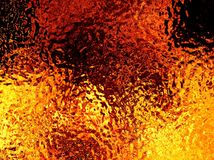 Illustration of an abstract image of a fiery flame. Close-up Royalty Free Stock Image