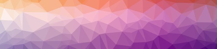 Illustration of abstract low poly pink banner background. Illustration of abstract low poly pink banner background stock illustration